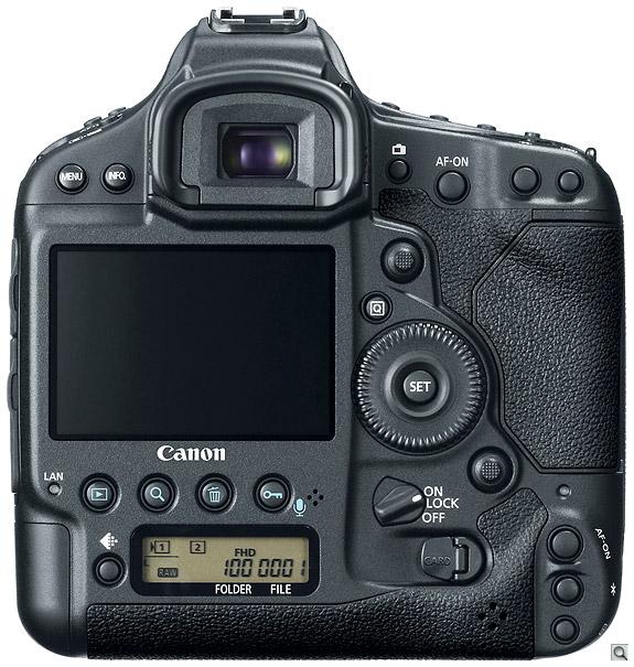 Canon 1D X Back
