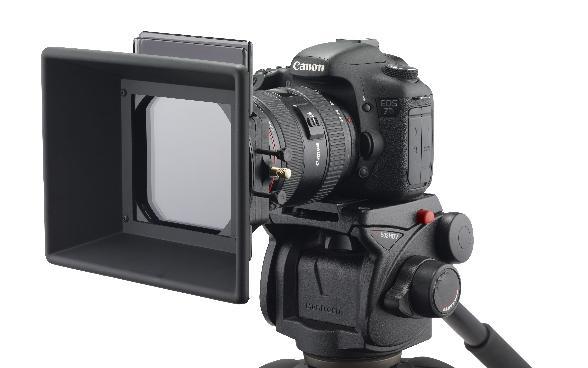 Schneider 4-inch Filter Holder with Rotating Sunshade
