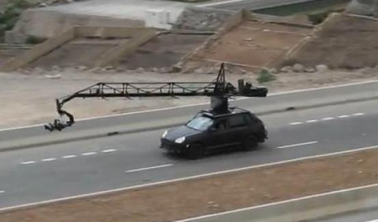 Fast and Furious 6 Camera Car XI