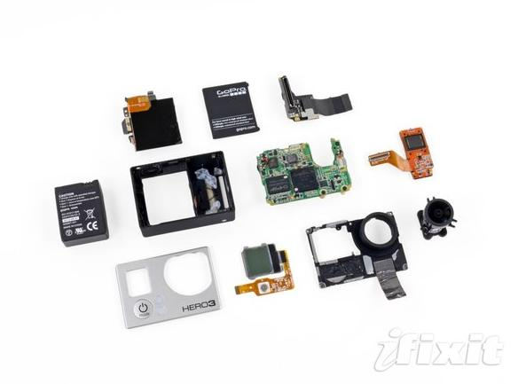 GoPro Hero 3 Teardown