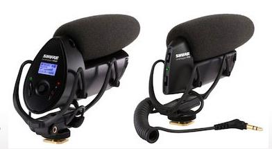Shure Lenshopper Microphones