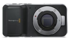 Blackmagic Pocket Cinema Camera Front