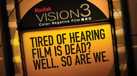 Kodak Motion Picture Film Is Not Dead