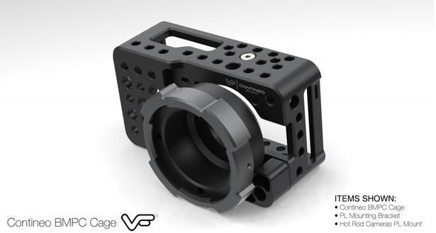 Contineo Cage Hot Rod Cameras PL Mount