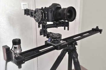 Kesslercrane Slider Brushless Gimbal 4 Axis Rig