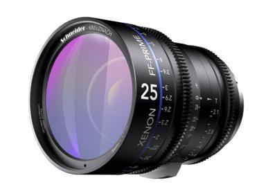 Xenon full-frame 25mm Prime