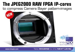 intoPIX JPEG2000 FPGA IP-cores