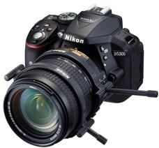 Nikon Zoom Lever