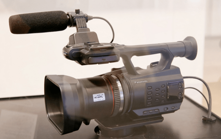 Panasonic 4K Handycam Camera