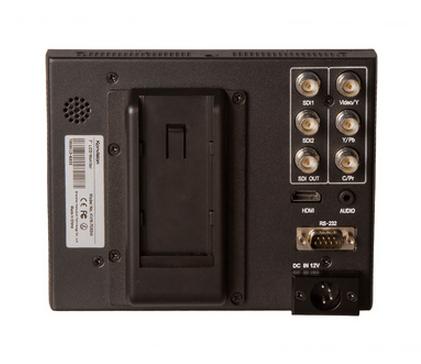 Konvision 7 Inch 3G HD-SDI On-Camera Monitor