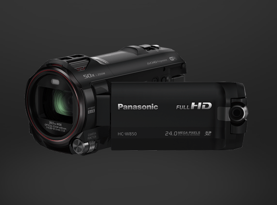 Panasonic Twin Camera HC-W850EB-K