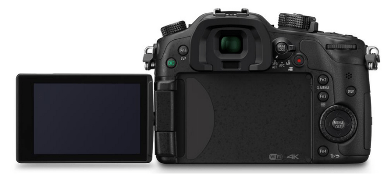 GH4 Flip Out Screen