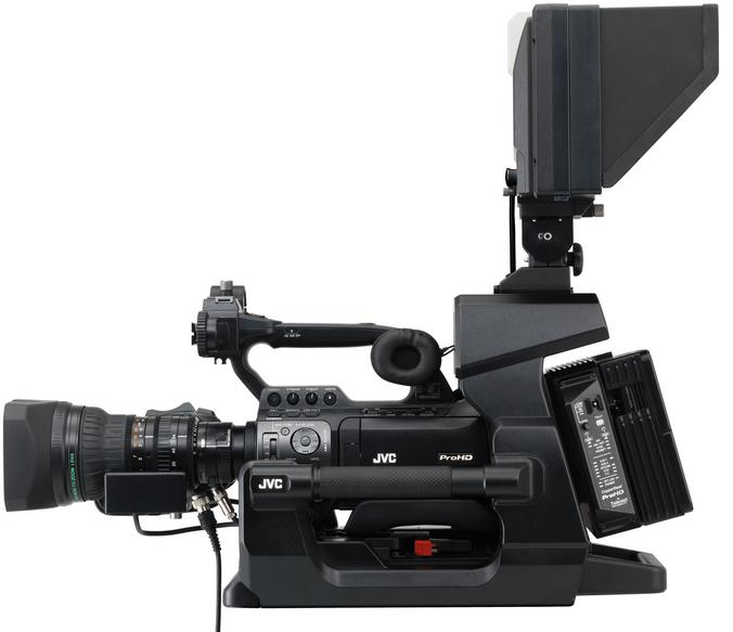 GY-HM890 ProHD Camcorder w:KA-F790 fiber studio configuration