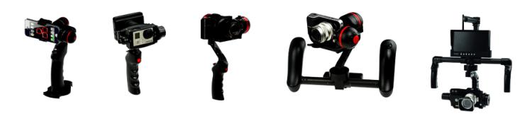 Gazar Handheld Gimbal Systems