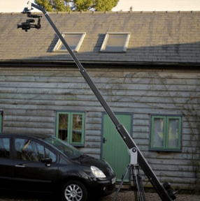 Motion Picture HireCrane and Brushless Gimbal
