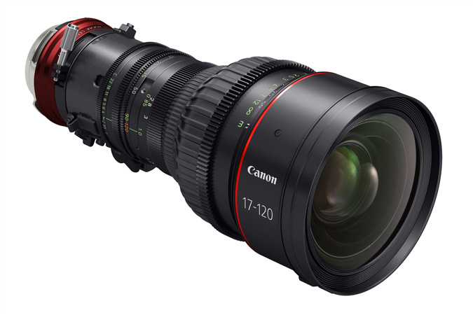 Canon Cine-Servo lens