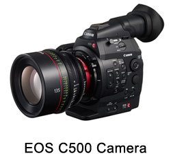 Canon EOS C500 RAW Upgrade