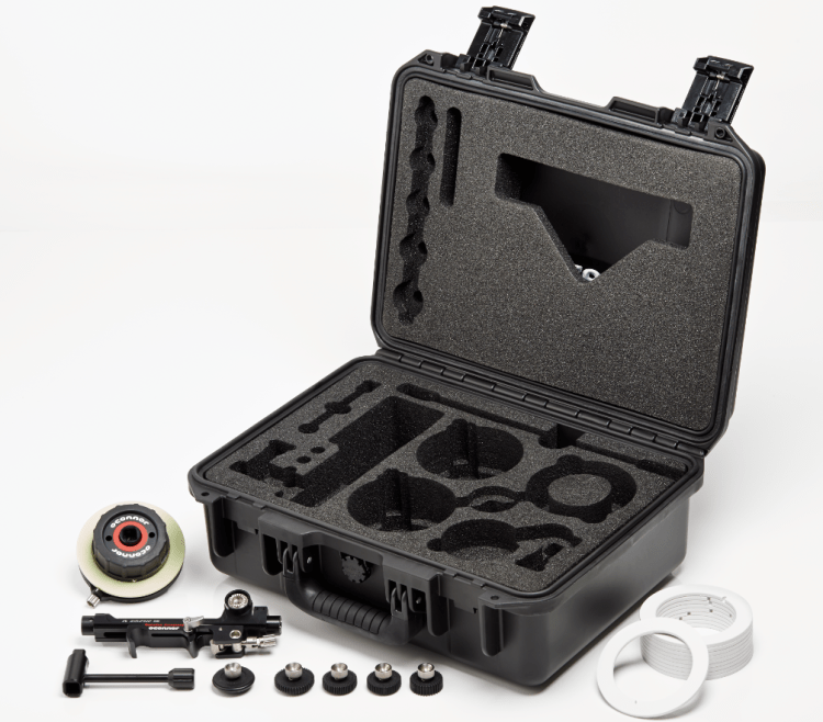 Follow Focus CINE Kit Open Case + Tools