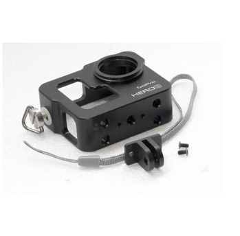New Black CNC Aluminium Cage GoPro HD Hero 3 Camera protector