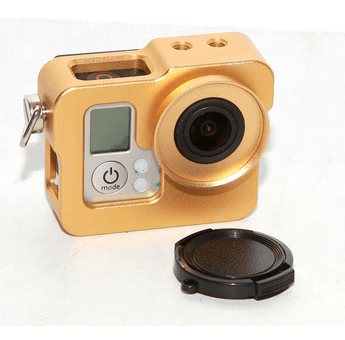 Second generation aluminum alloy shell multifunctional dog cages dog 3 metal shell gopro hero3