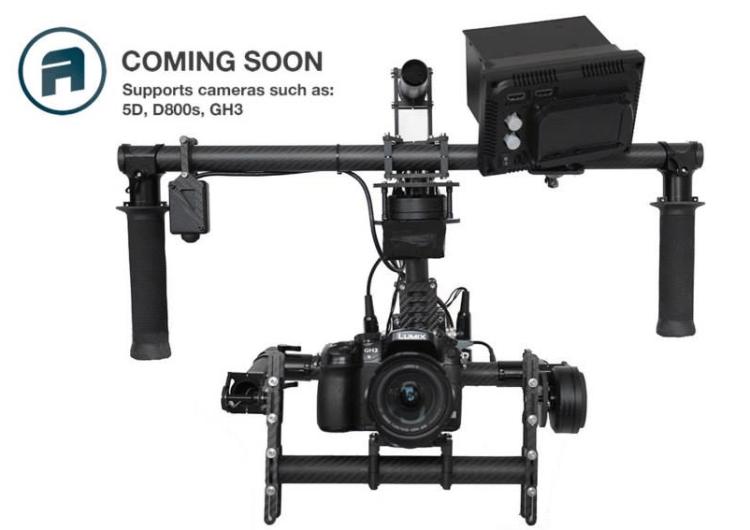 MotionOne S2 Steadicam Brushless Gimbal Camera Rig