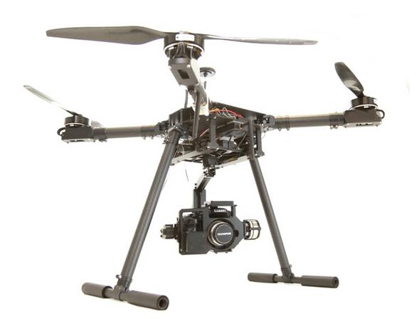 Worlds First 4k Ultra HD GH4 Quadcopter Kit