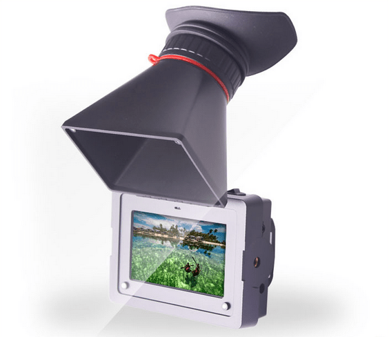 SEETEC Small HD on camera 3.5 inch field monitor EVF viewfinder kit HDMI input and output