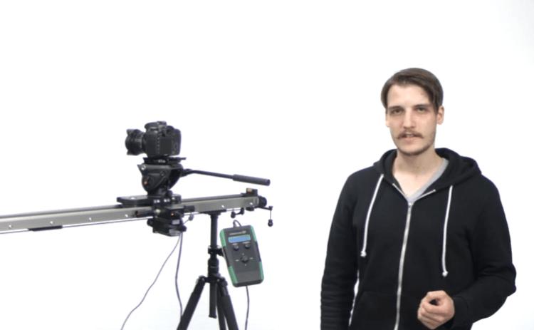 Slidekamera HKN-2 Motion Control on a HSK-5 Heavy Duty Video Slider