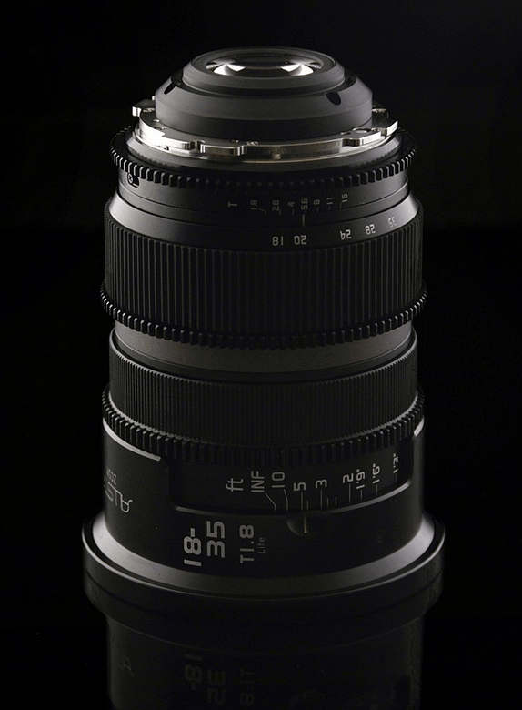 Allstar 18-35mm T1.8 PL Lite Lens Version 1