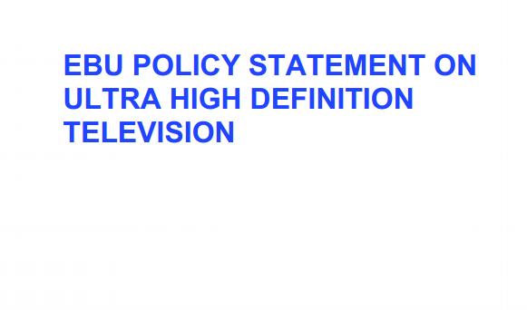 EBU 4K