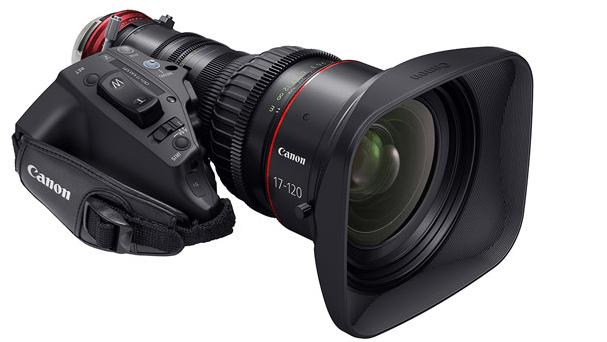 CINE-SERVO 17-120mm T2.95 lens