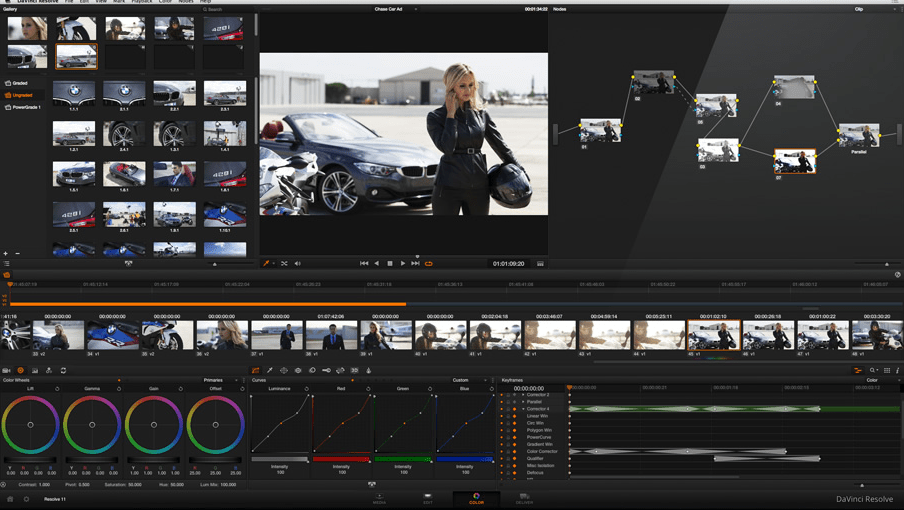 how much is DaVinci Resolve 11 software for mac?