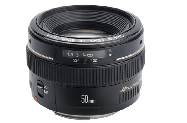 Canon 50mm 1.4 EF lens