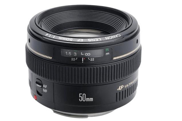Canon 50mm 1.4 EF lens