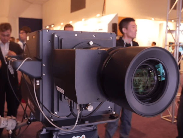 NHK Camera 8K 120Hz Demo