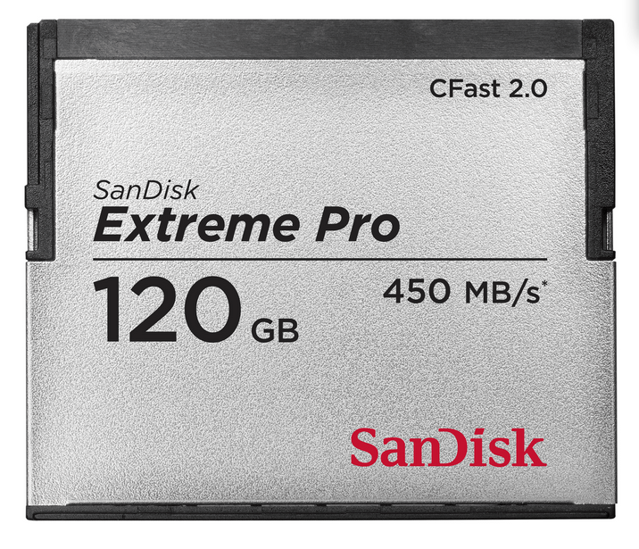 SanDisk Extreme PRO CFast 2.0 memory card