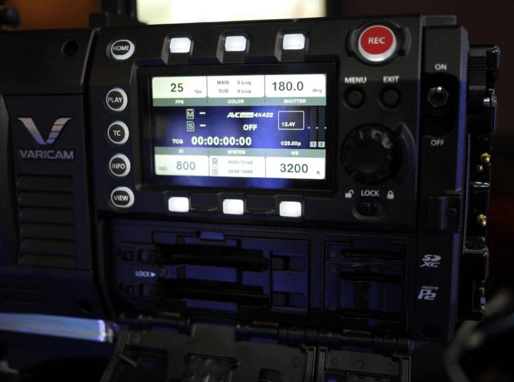 Panasonic Varicam Removable Control Panel