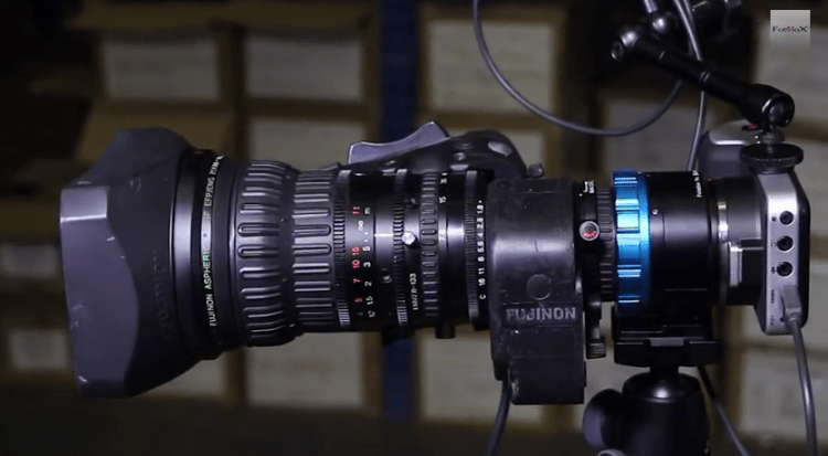 Add a Powered Zoom to your Blackmagic Pocket Cinema Camera with the PowerLynx Kit from Fotodiox