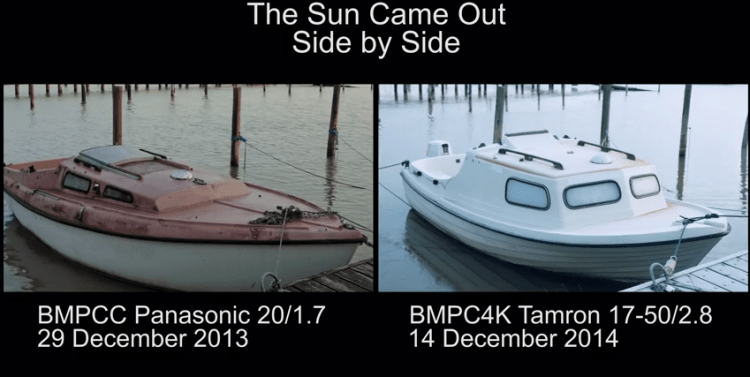 BMPCC vs BMPC4K A Different Type of Shootout from Mattias Burling
