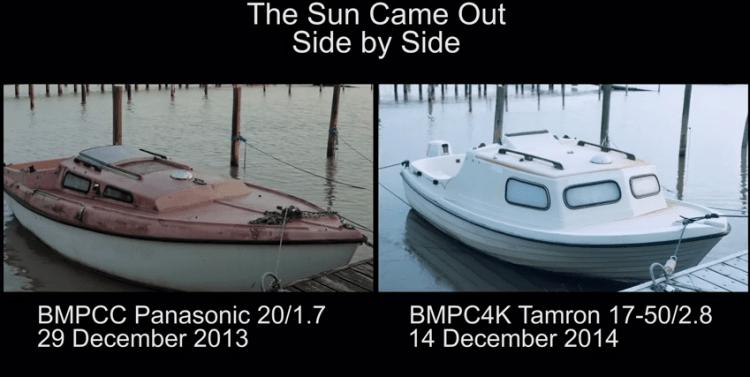 BMPCC vs BMPC4K A Different Type of Shootout from Mattias Burling