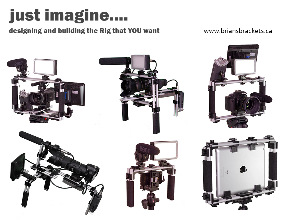Camera Diy Dslr Camera Rig design and build your own affordable diy camera rig with bracket bots are designed corners holders blocks rods used to unique rigs for smart phones tablets dslrs much mor