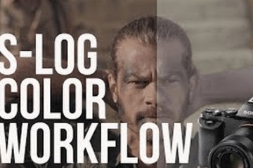 Easy S-LOG Color Grading Workflow A7S : FS7