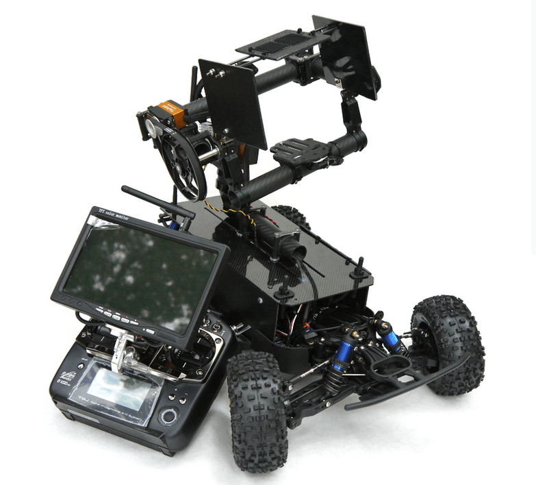 Groundrig A Remote Controlled Gimbal Car Camera Rig
