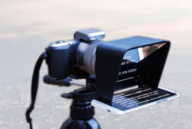 Parrot Affordable Teleprompter for DSLR Cameras