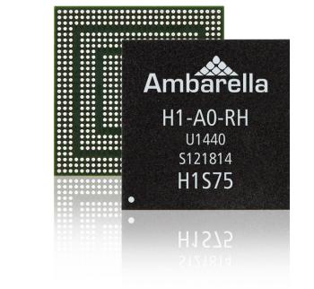 Ambarella 4K H1 camera System-On-Chip SoC