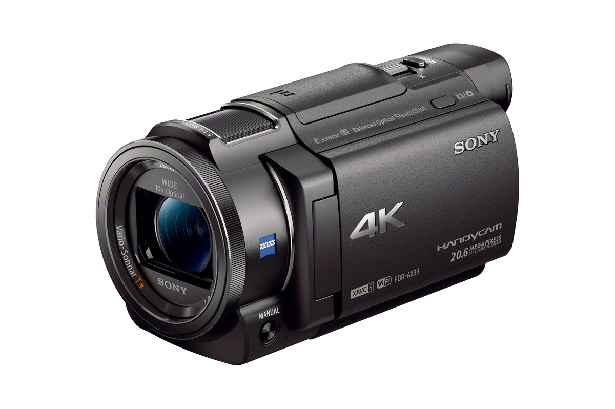Sony 4k Fdr Ax33 Camera For 999 And 4 More Cameras Announced