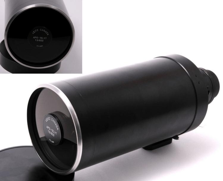 Leitz Canada f. Leica R 5:600 mm Apo-Telyt Prototype Unicum lens 230K