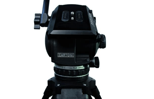 Cartoni TRACKER ENG Fluid Head Tripod