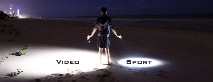 Flame Angel Video Sports Light