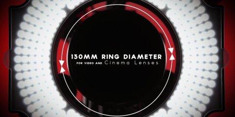 iLED-RL Rod-Mounted LED Ring Light from ikan